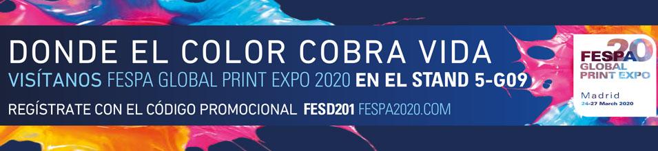 GESMAIN Y FRAMUN ESTARÁN PRESENTES EN FESPA 2020